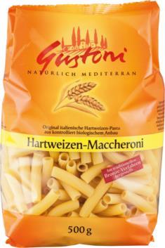 Hartweizen-Maccheroni