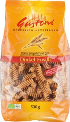 Dinkel-Fusilli